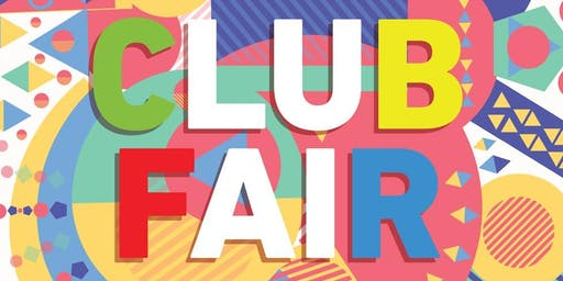 Club Fair Fall 2019