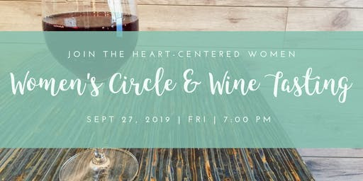 Women's Circle & Wine Tasting