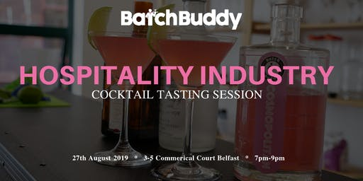 Hospitality Industry Cocktail Tasting Session