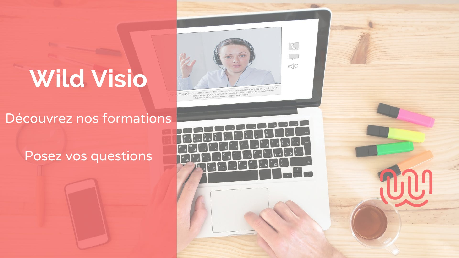Wild Visio - Présentation Ecole & Formations - Wild Code School Strasbourg