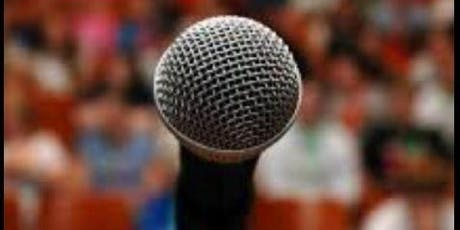 TIPS ON BECOMING A BETTER PUBLIC SPEAKER tickets