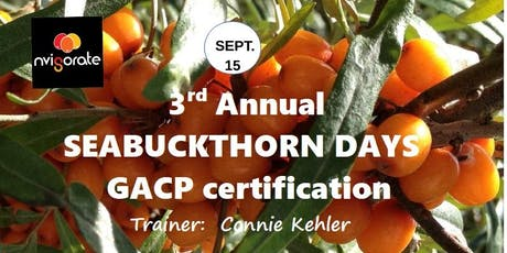 GACP (Good Agriculture and Collection Practices) Certificate Course tickets