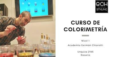 Curso de peluquería:  Colorimetría nivel básico