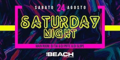 HIP HOP AND REGGAETON PARTY - SATURDAY 24 AUGUST - The Beach Club Milano