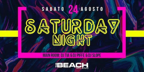 HIP HOP AND REGGAETON PARTY - SATURDAY 24 AUGUST - The Beach Club Milano biglietti