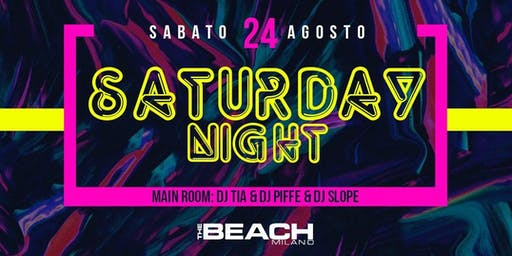 HIP HOP AND REGGAETON PARTY - SATURDAY 24 AUGUST - The Beach Club Milano