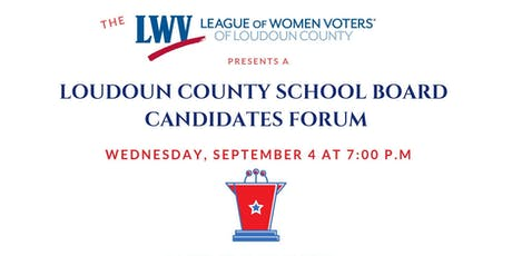 LCPS Candidate Forum tickets