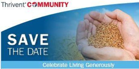 Celebrate Living Generously Fundraising Brunch tickets