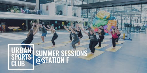 Urban Sports Club Yoga Session - STATION F RESIDENTS ONLY