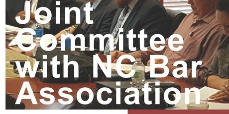 UMCNC/NC Bar Association Joint Committee Meeting tickets