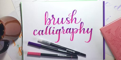 Brush Pen Calligraphy -- 10/5/19