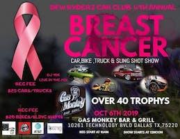 DFW Ryderz Car Club 4th Annual Breast Cancer Car, Bike, Truck, & Sling Shot Show