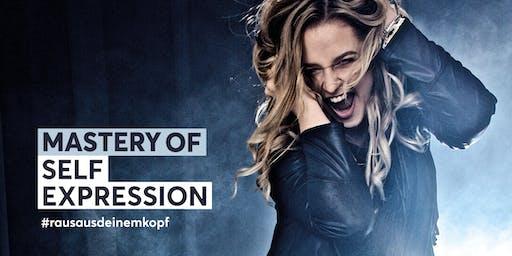 Mastery of Self Expression 10/2019 - ausverkauft