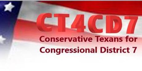 CD 7 Conservative Precinct Chairs Forum tickets