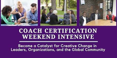 Coach Certification Weekend Intensive - San Diego, CA tickets