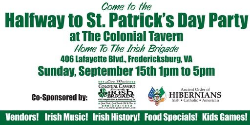 Half Way to St. Patrick's Day Festival: Fun for all ages!