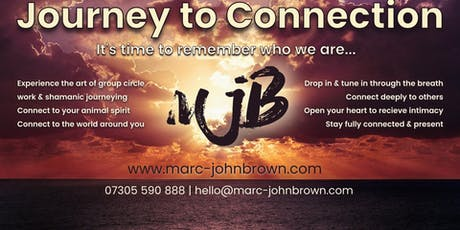 Journey to Connection, with Marc-John Brown tickets