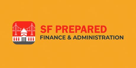SF Prepared – Emergency Response Training for Finance & Administration tickets