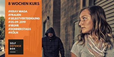 8 Wochen Krav Maga Selbstverteidigungskurs für Frauen ab 14 Jahre Donnerstags