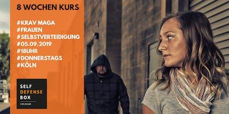 8 Wochen Krav Maga Selbstverteidigungskurs für Frauen ab 14 Jahre Donnerstags tickets