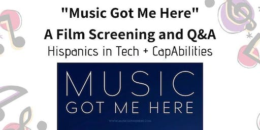"""Music Got Me Here"" Film Screening"