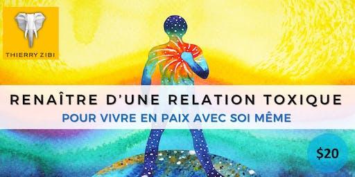 RENAÎTRE D'UNE RELATION TOXIQUE - POUR VIVRE EN PAIX AVEC SOI MÊME