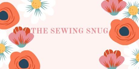 Cushion beginners sewing class tickets