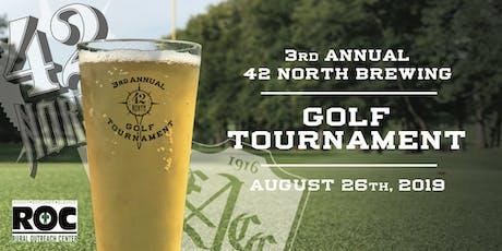 3rd Annual 42 North Golf Tournament tickets