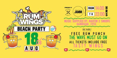 Rum & Wings All Day Party! tickets