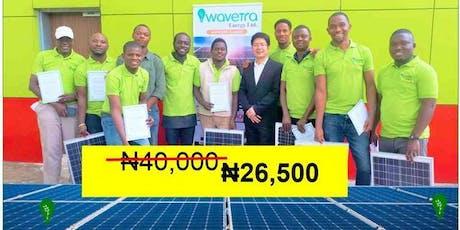 PAID Solar/Inverter Installation intensive training - Wavetra Energy tickets