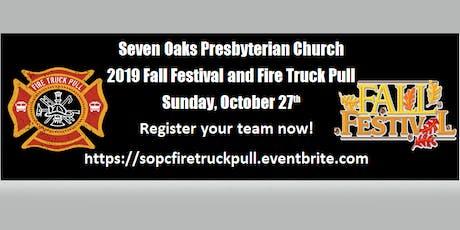 Seven Oaks Presbyterian Fire Truck Pull tickets