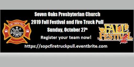 Seven Oaks Presbyterian Fire Truck Pull