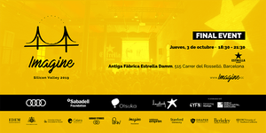 Evento Final Imagine Silicon Valley 2019 - Barcelona
