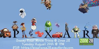 Disney Pixar Trivia at Zone 28