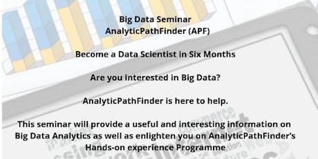 Data Science and Big Data Seminar tickets
