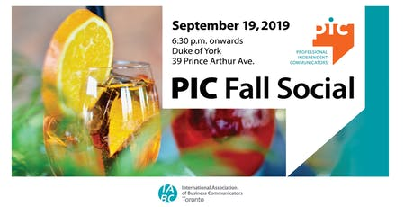 PIC Fall Social tickets