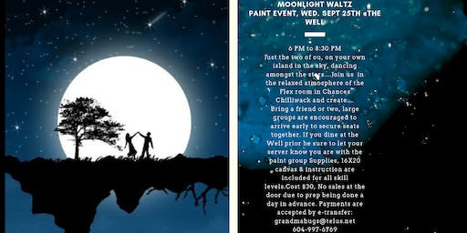 Moonlight Waltz Paint event