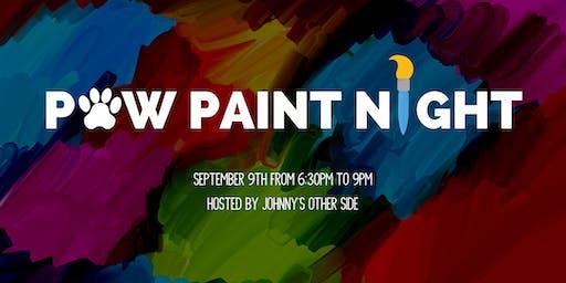 Paw Paint Night!