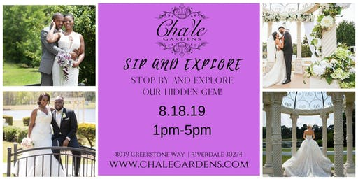 Sip and Explore Cha'le Gardens