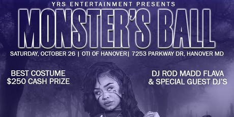 Monster's Ball Costume Party  tickets