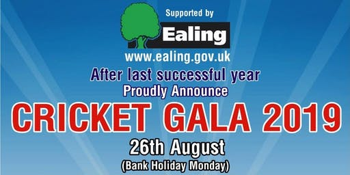 Cricket Gala 2019 (Bank Holiday Monday)