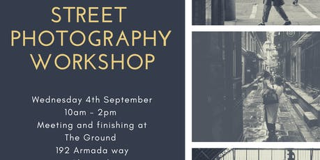 Street Photography Workshop - Plymouth Centre tickets