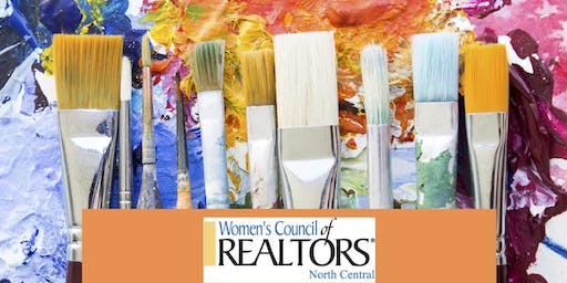 PAINT & SIP EVENING  with Women's Council of Realtors North Central Network