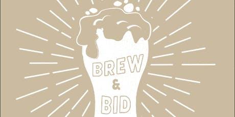 Brew & Bid  tickets