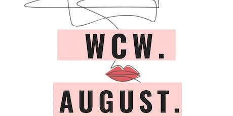 WCW. 8.21.19 tickets