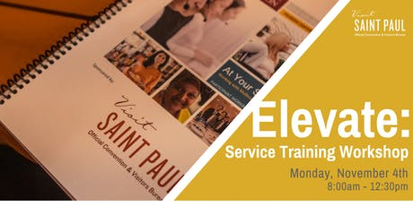 Elevate: Service Training Workshop tickets