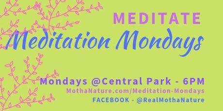 Meditation Mondays- Central Park tickets