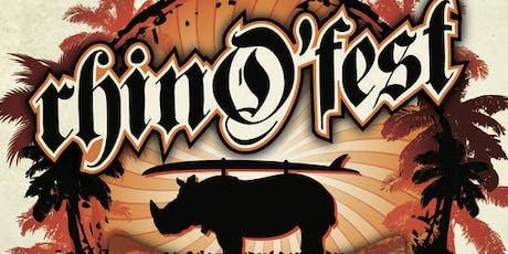 RhinO'fest 2019 tickets