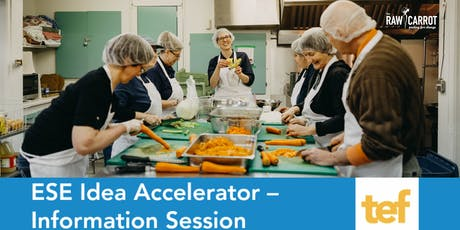ESE Idea Accelerator - Information Session Webinar tickets