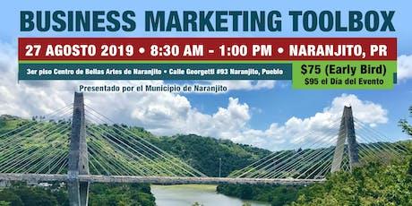 Business Marketing Toolbox Naranjito tickets